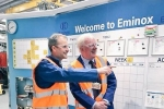 Sir Edward Leigh MP visits Eminox, Gainsborough