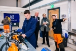 Sir Edward Leigh visits students/apprentices at Riseholme College